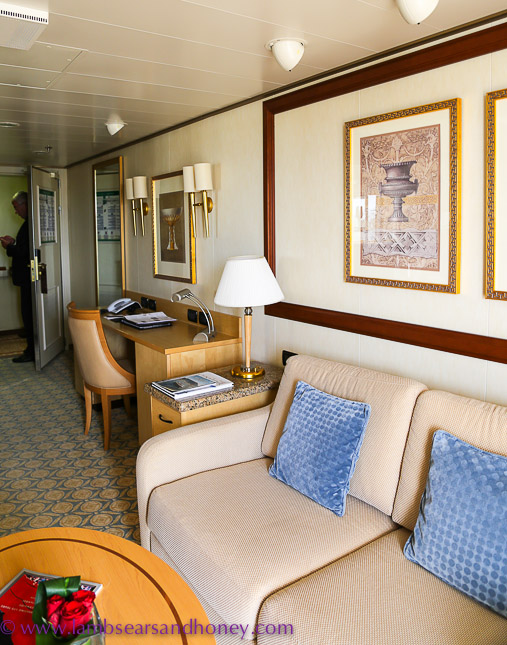 suite on Cunard's queen elizabeth