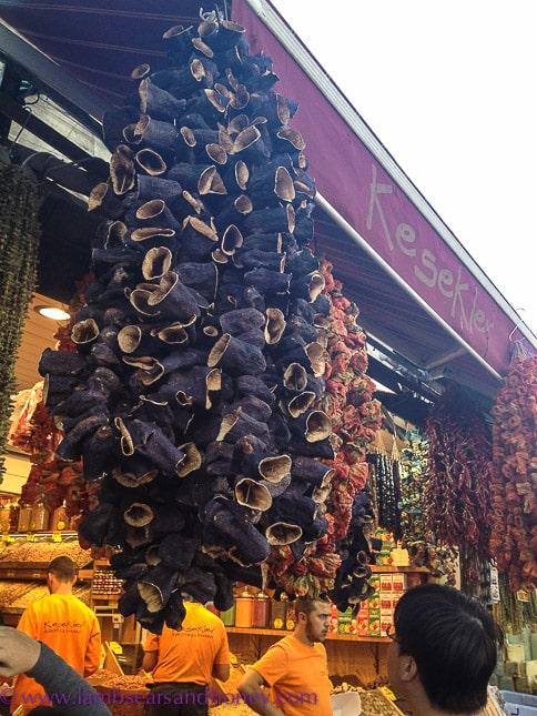 dried vegetables in Turkey