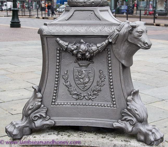 A bull, emblem of turin