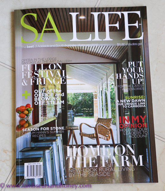 February SALife magazine In My Kitchen
