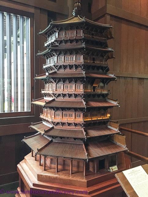 Liao replica pagoda, nan lian garden