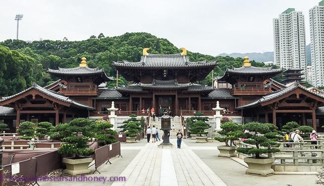 Chi Lin Nunnery temple, nan lian garden