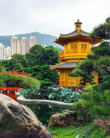 pagoda, Nan Lian Garden