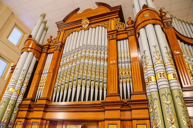 barossa valley secrets, 19th century Hill & Sons pipe organ