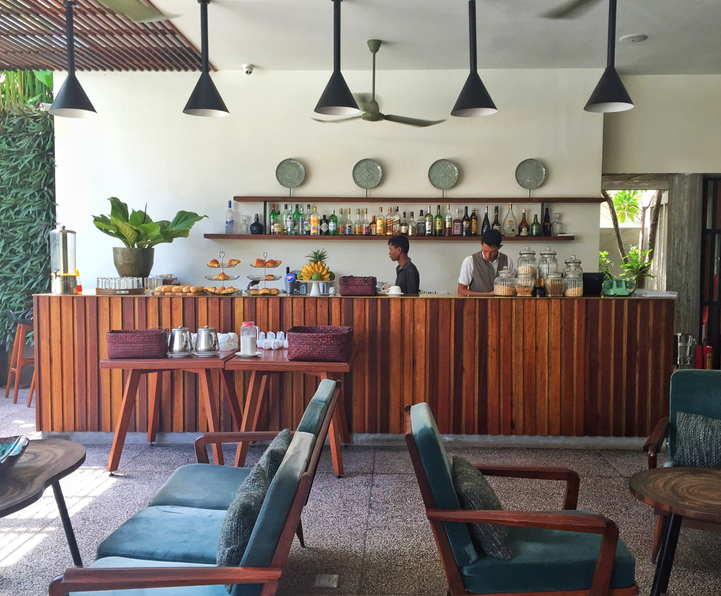 Bar at Viroth's Hotel, Siem Reap