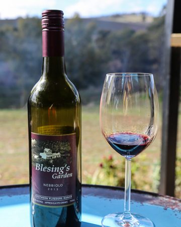 southern flinders ranges, Blesing's wine glass