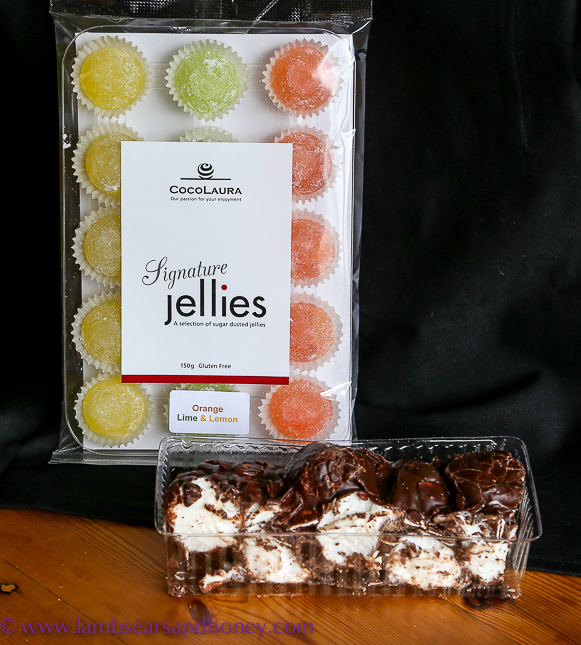 chocolate & jellies from CocoLaura in my kitchen