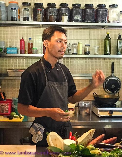 Mie Cafe chef Pola Siv, Siem Reap