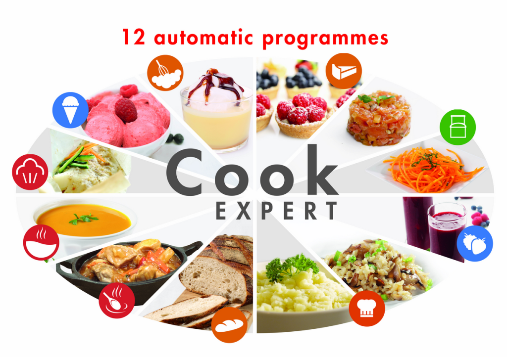 12 programs in the magimix cook expert