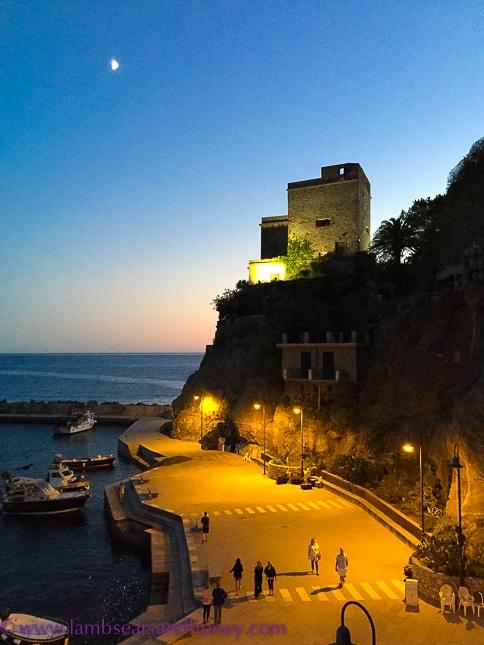 Sea wall monterosso