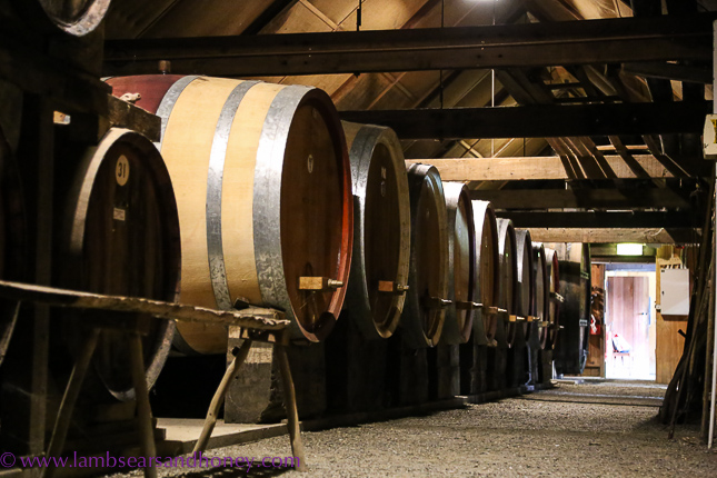 Wine barrels at Rockford Wines, Adelaide - great wine capitals