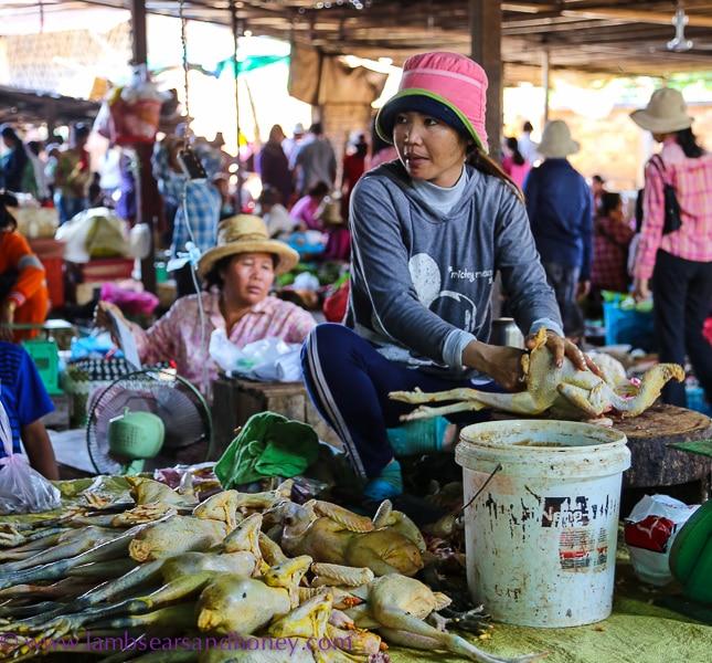 psar leu market chicken vendor