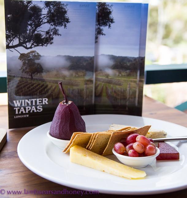 Longview vineyardcheese platter