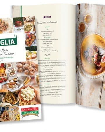"""La Casa del Formaggio """"Famiglia"""" cookbook"""