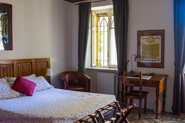 Villa Ferrari room, Asti.