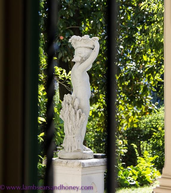 View from my window at the Villa Ferrari, Asti