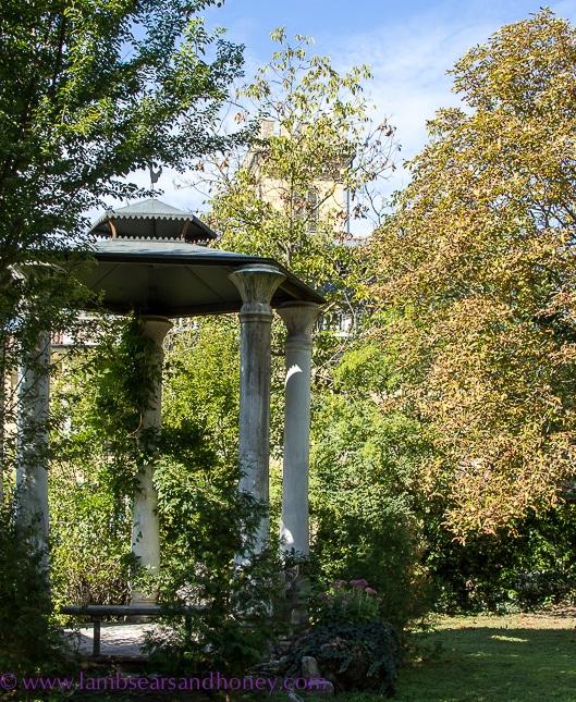 Villa Ferrari garden, Asti