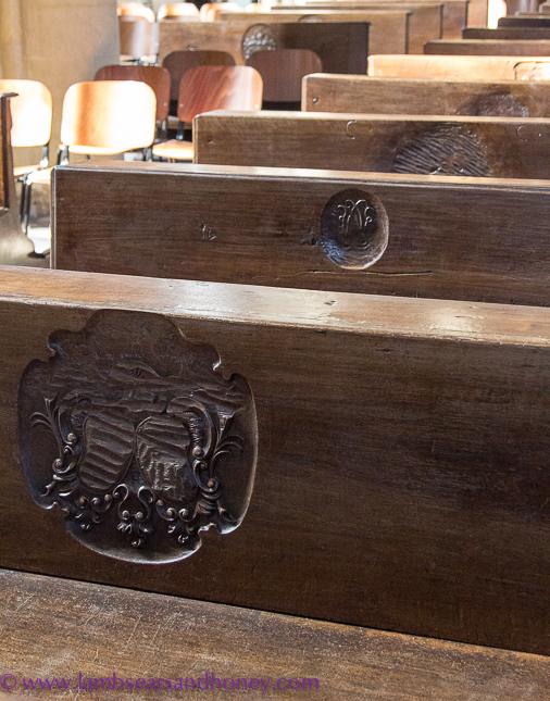 Asti Cathedral pews
