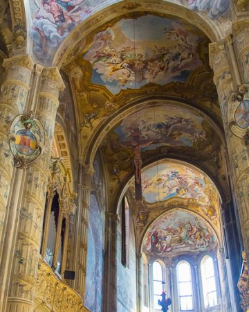 asti cathedral frescoes