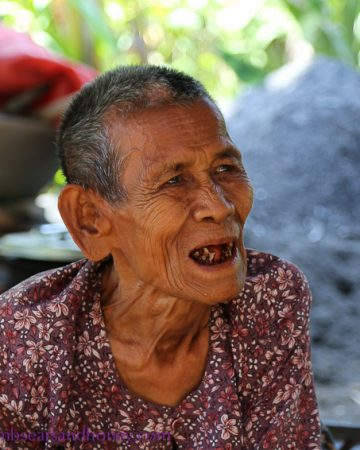 Cambodian grandma - cambodian food production