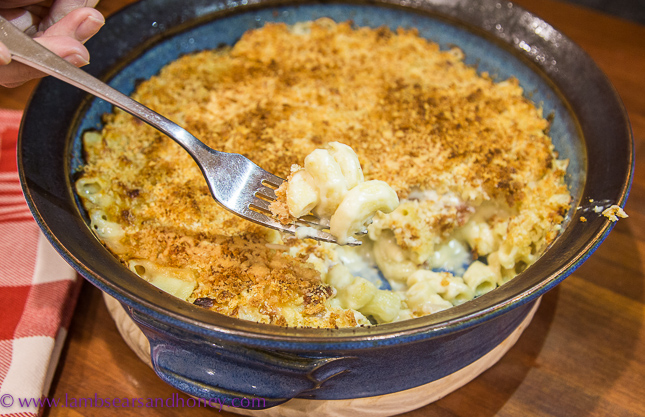 Recipe for truffled mac 'n' cheese