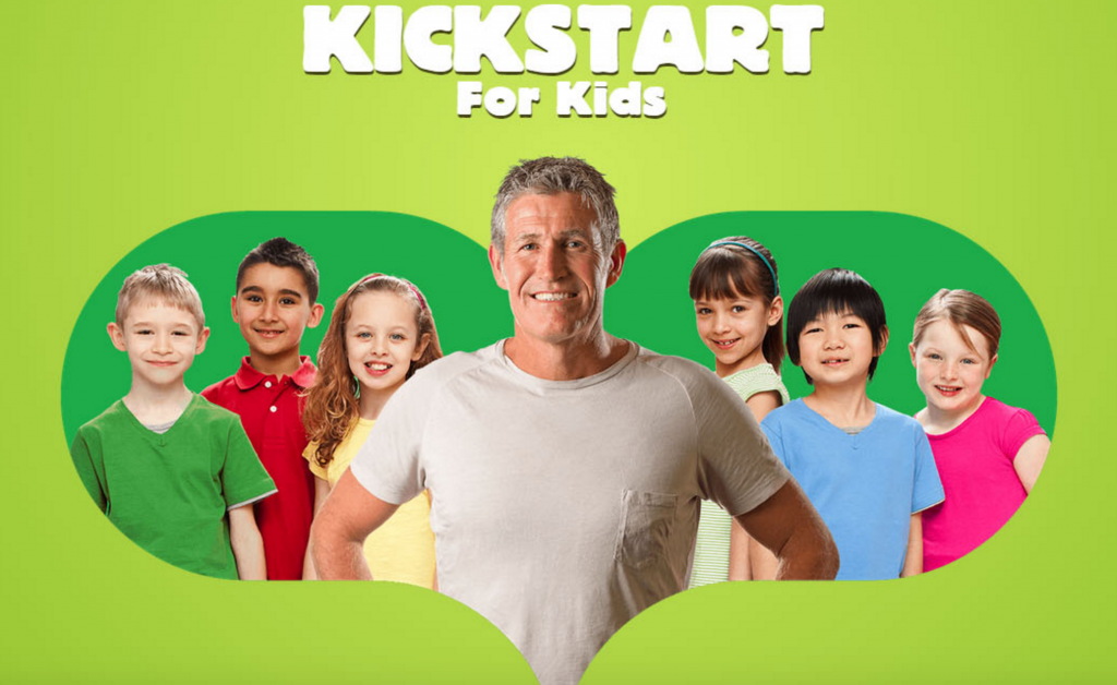 logo kickstart for kids