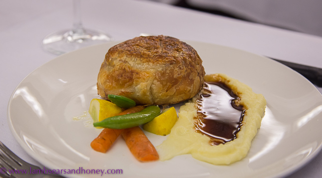 onboard the indian pacific beef wellington
