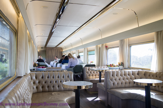 onboard the indian pacific - platinum service
