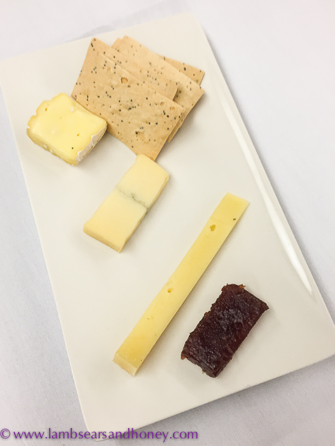 onboard the indian pacific cheese platter