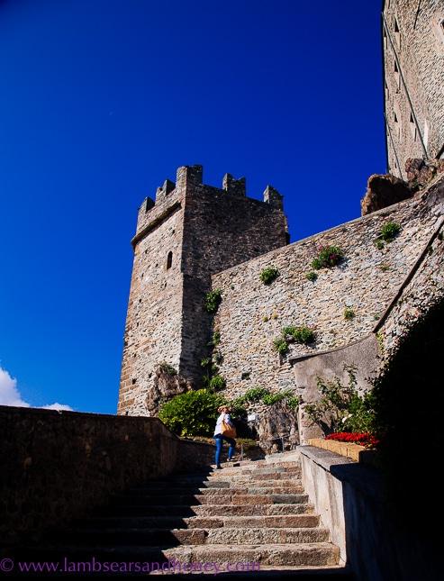 A long climb to sacra di san michele