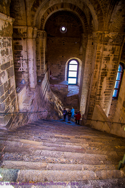 sacra di san michele, stairway of the dead