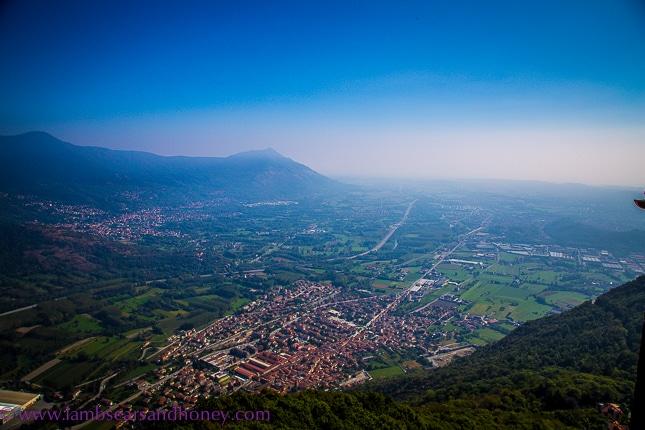 Val de Susa from sacra di san michele