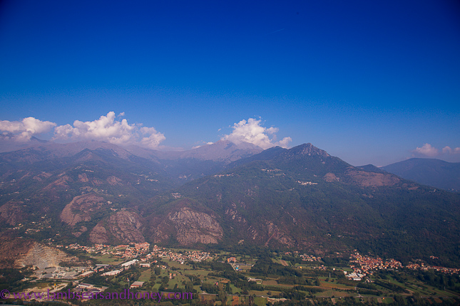 sacra di san michele - view from the top
