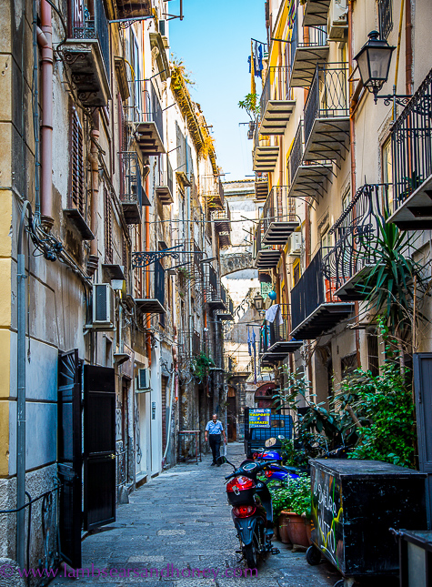 Street in palermo