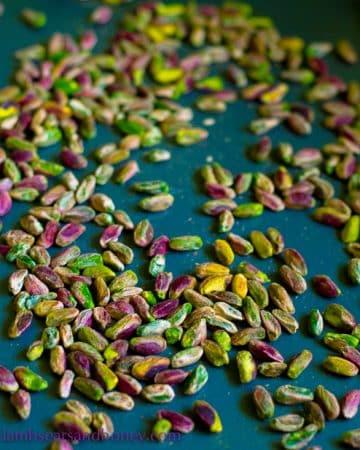 pistachio paste pistachios