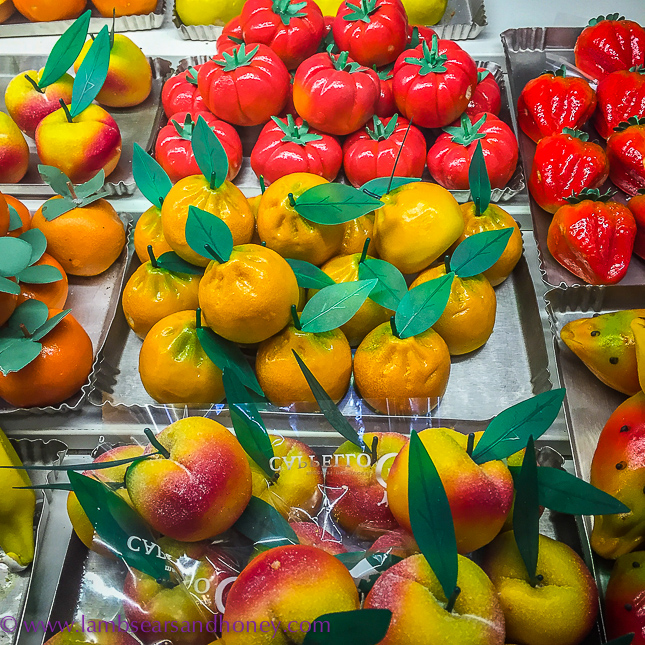 palermo marzipan fruits
