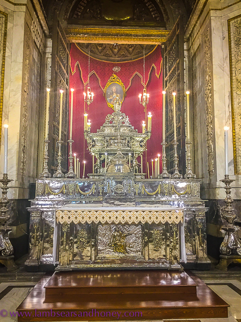 Cathedral in Palermo - the Chapel of St Rosalie