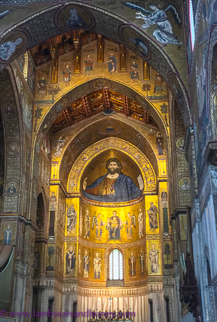Italian churches, cathedral of monreale