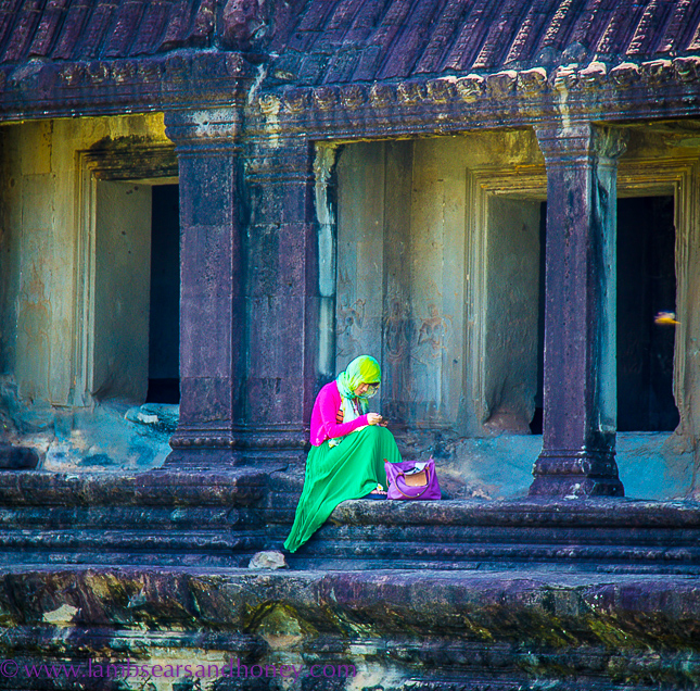 life goes on, angkor wat