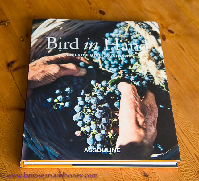 In My Kitchen, the beautiful bird in hand book