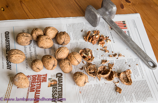In My Kitchen are walnuts