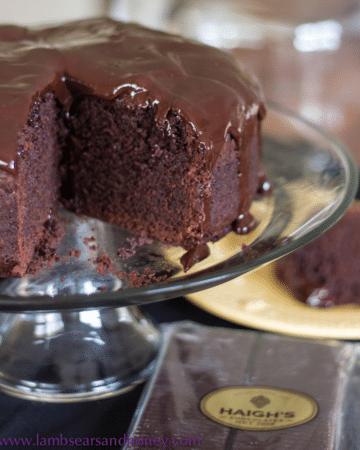 Cake - because Lambs' Ears had a birthday