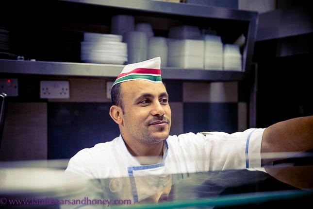 One of the dubai food tour friendly faces