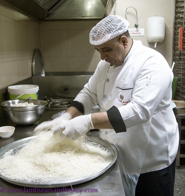 dubai food tour kunafa