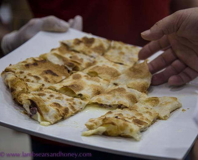 dubai food tour, Egyptian feteer