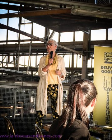 OzHarvest founder Ronni Kahn at cookup 500