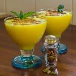 sholeh zard, a persian saffron rice pudding