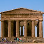 The Agrigento Valley of the Temples in Sicily
