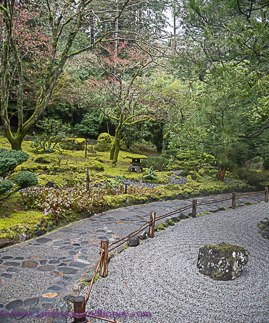 Japanese garden, butchart gardens on vancouver island