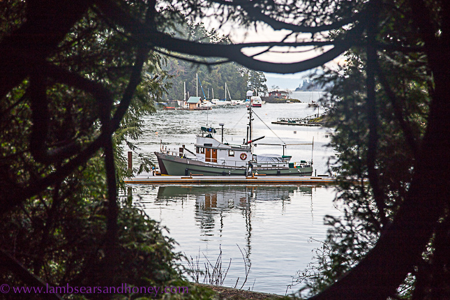 Tod inlet view, Butchart Gardens on Vancouver Island